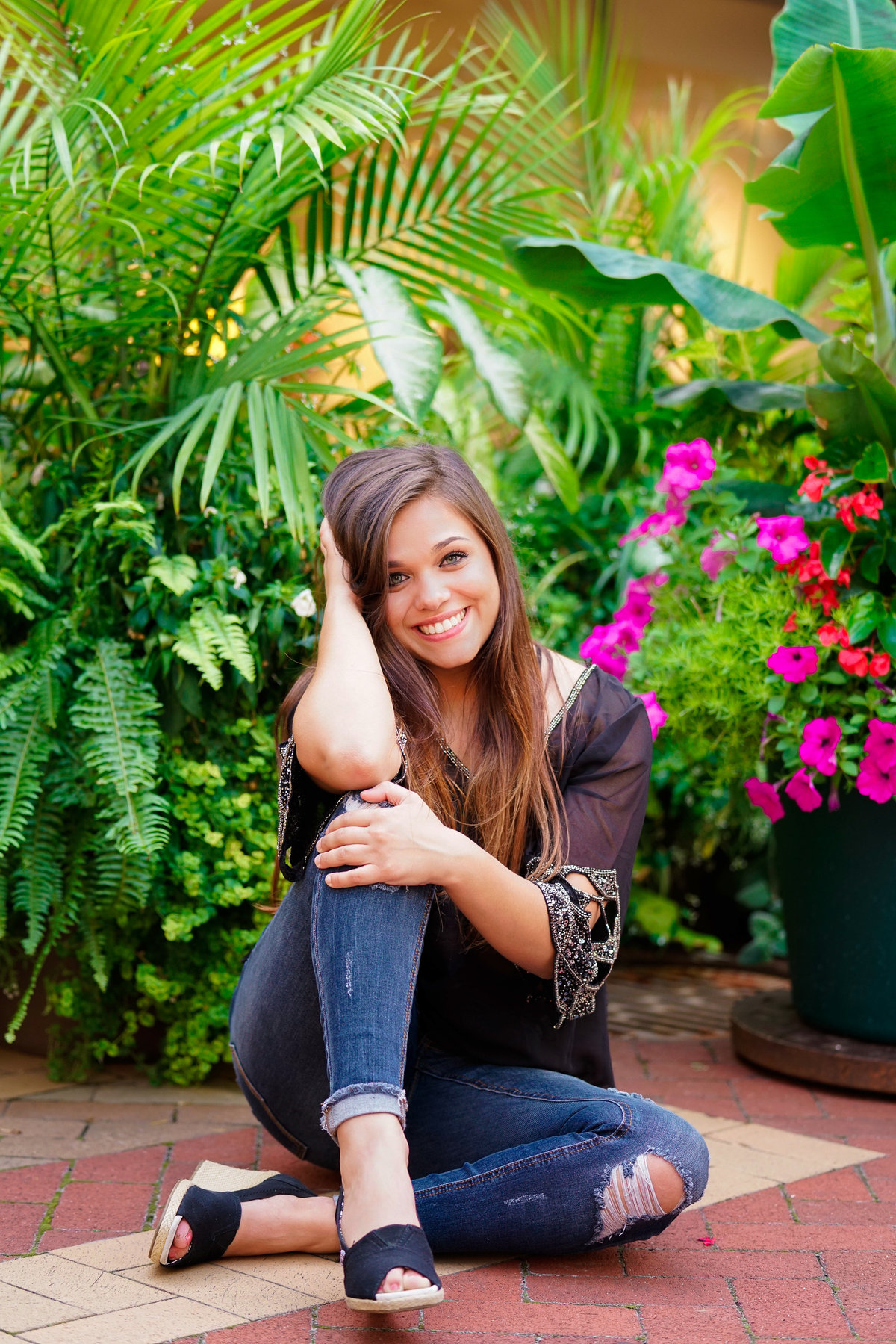 high school senior girl downtown kalamazoo MI