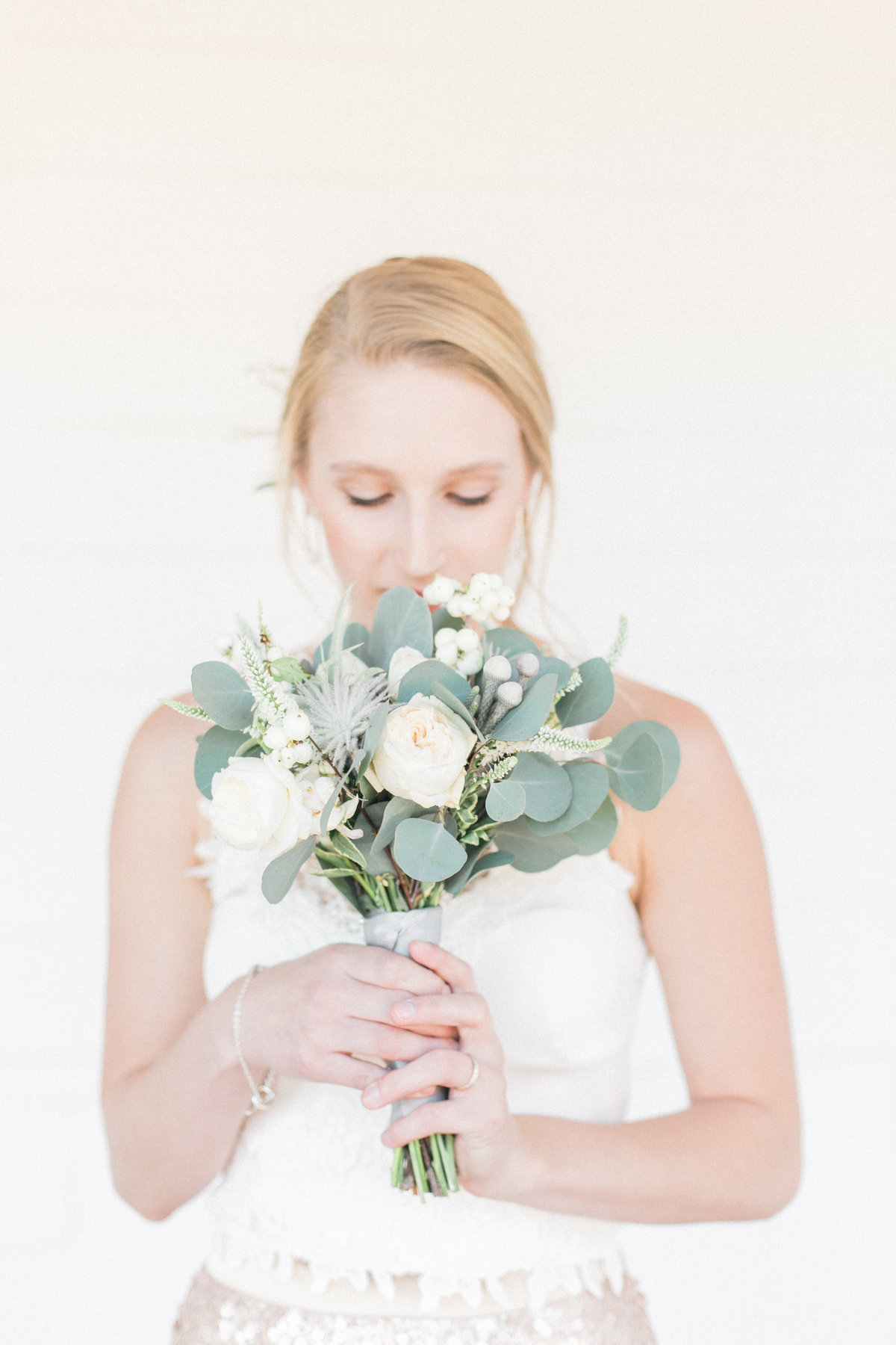 Ivory Floral Bouquet Mandy Scott Events