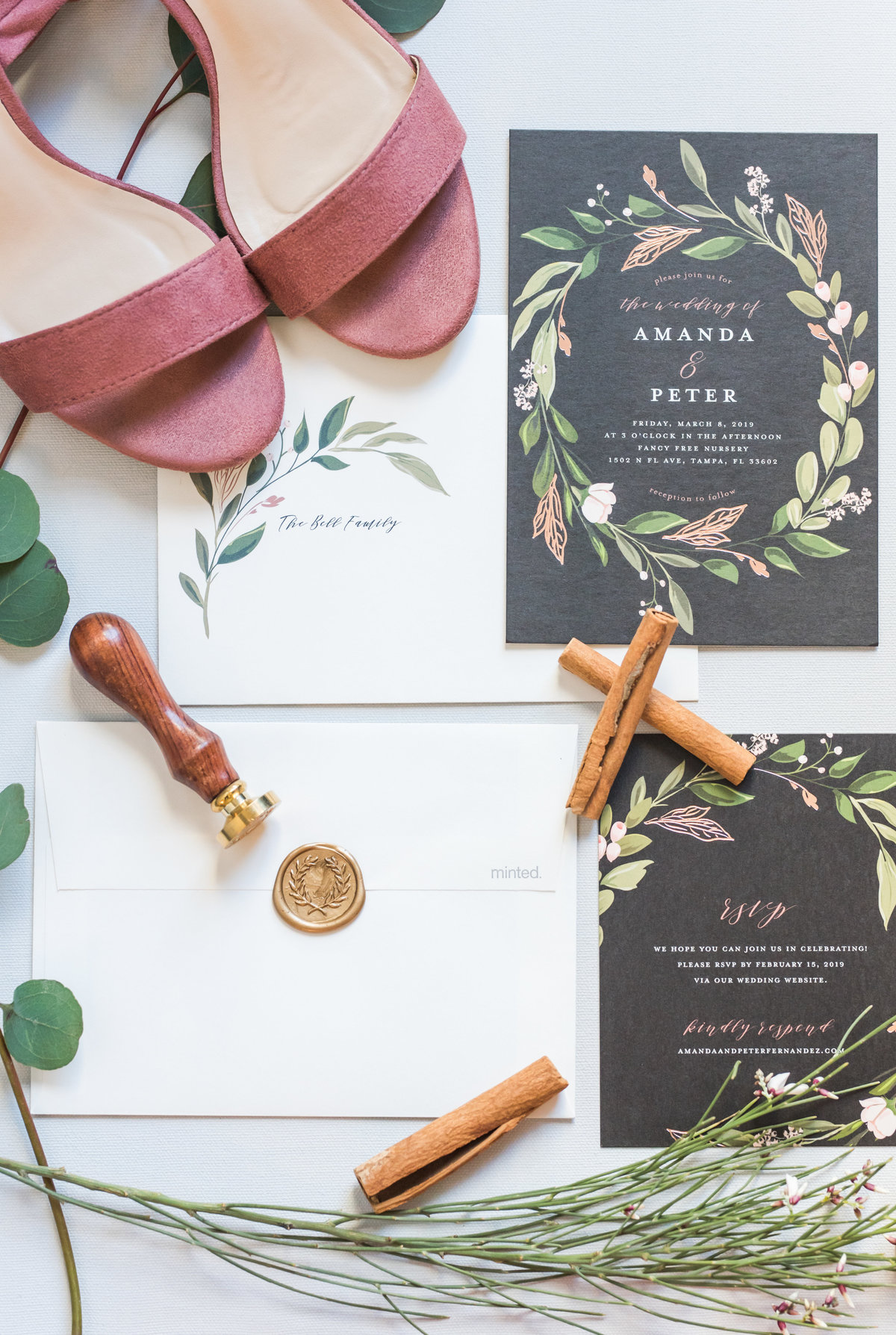 Tampa boho wedding at Fancy Free Nursery 2
