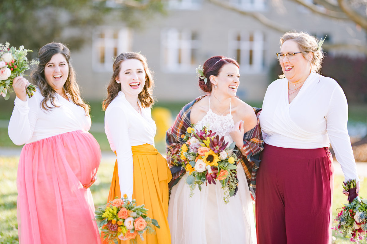 Urban Artifact Brewery Colorful Fall Wedding-122