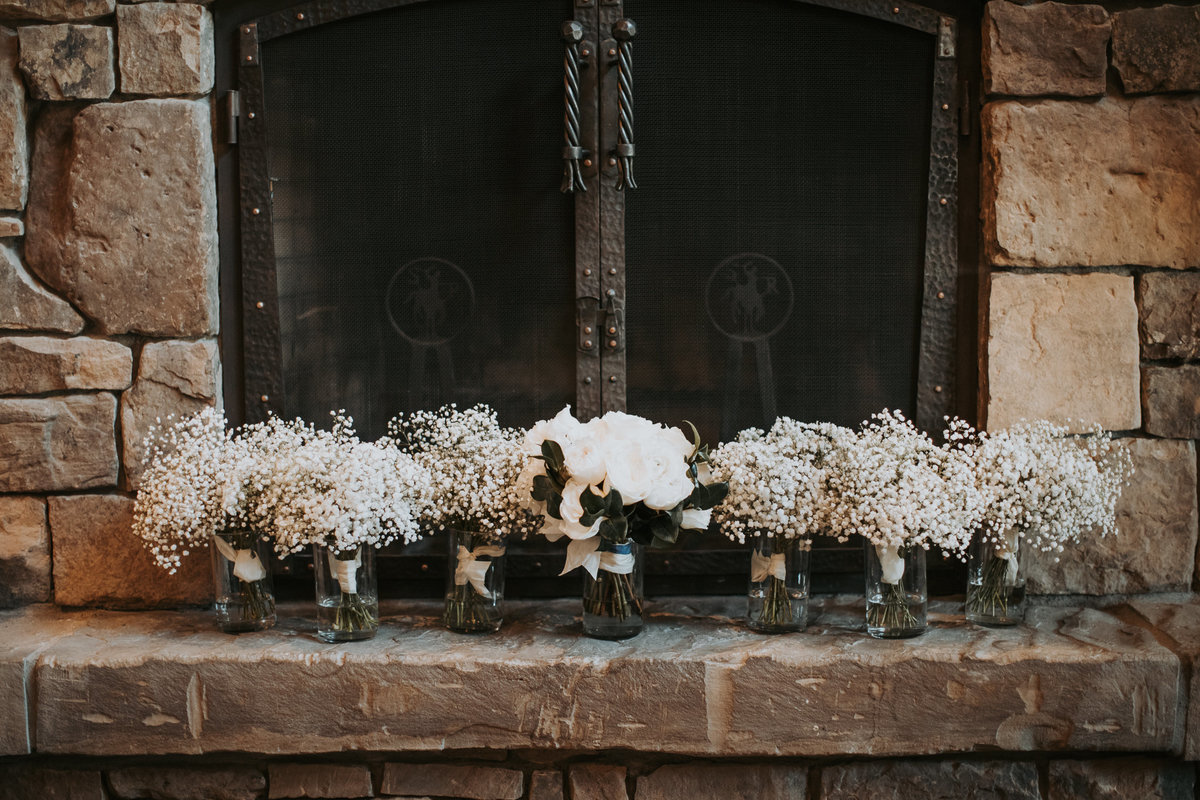 Montana bridal bouquets for ceremony
