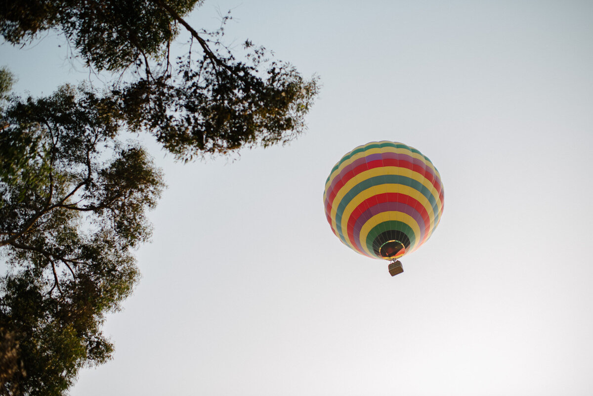 Hot Air Balloon Elopement Marie Monforte Photography-110