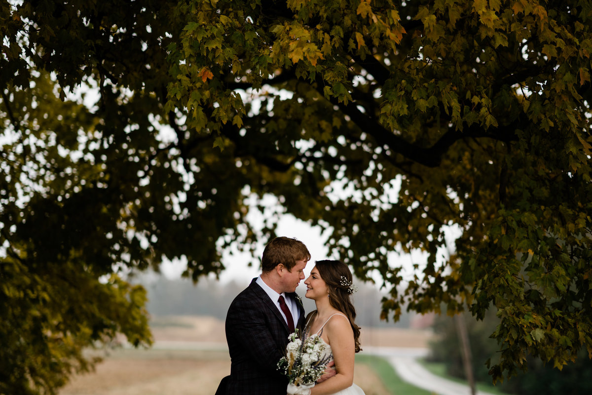 Katelyn and Nick Ohio Fall Outdoor Wedding Cincinnati-47