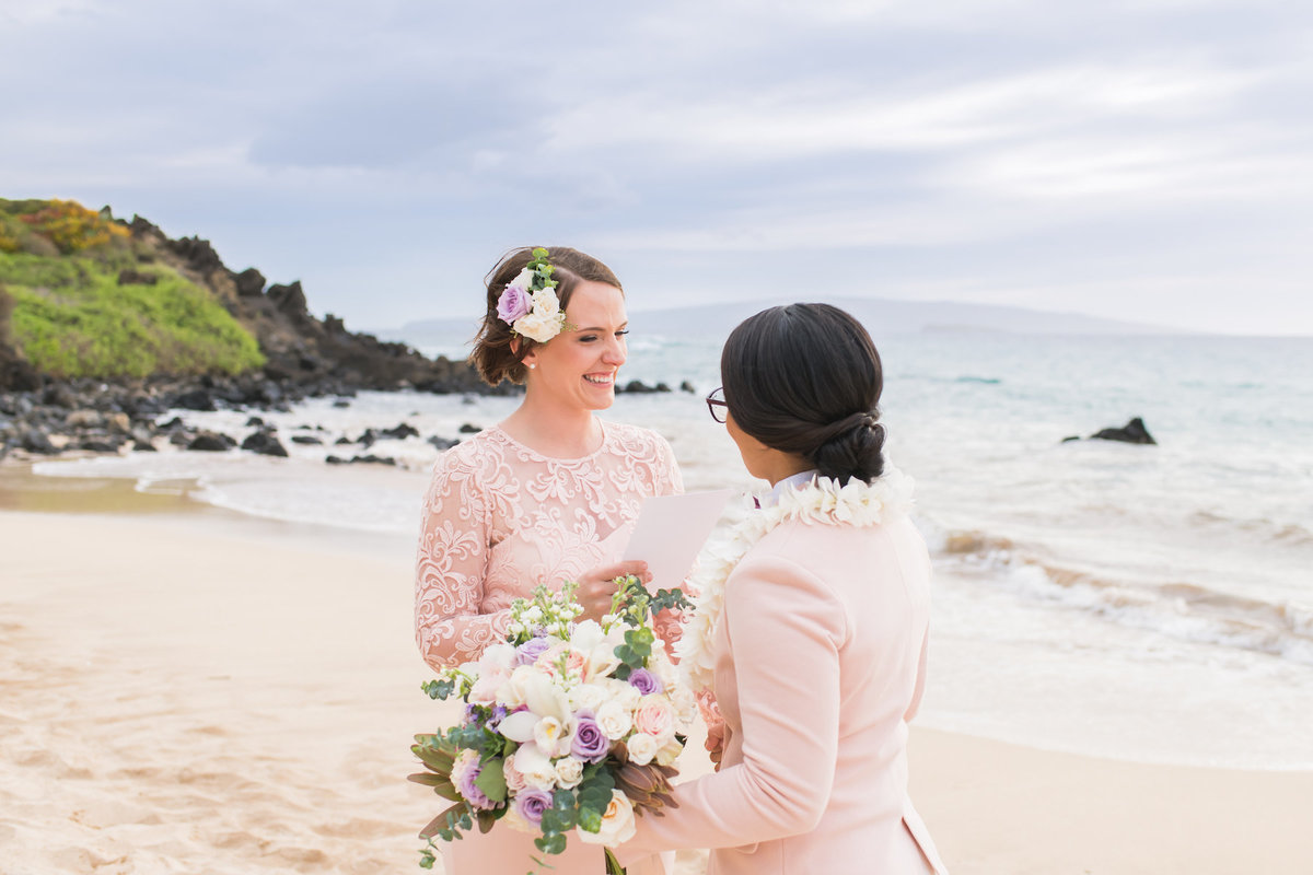 Maui Wedding Same Sex photography
