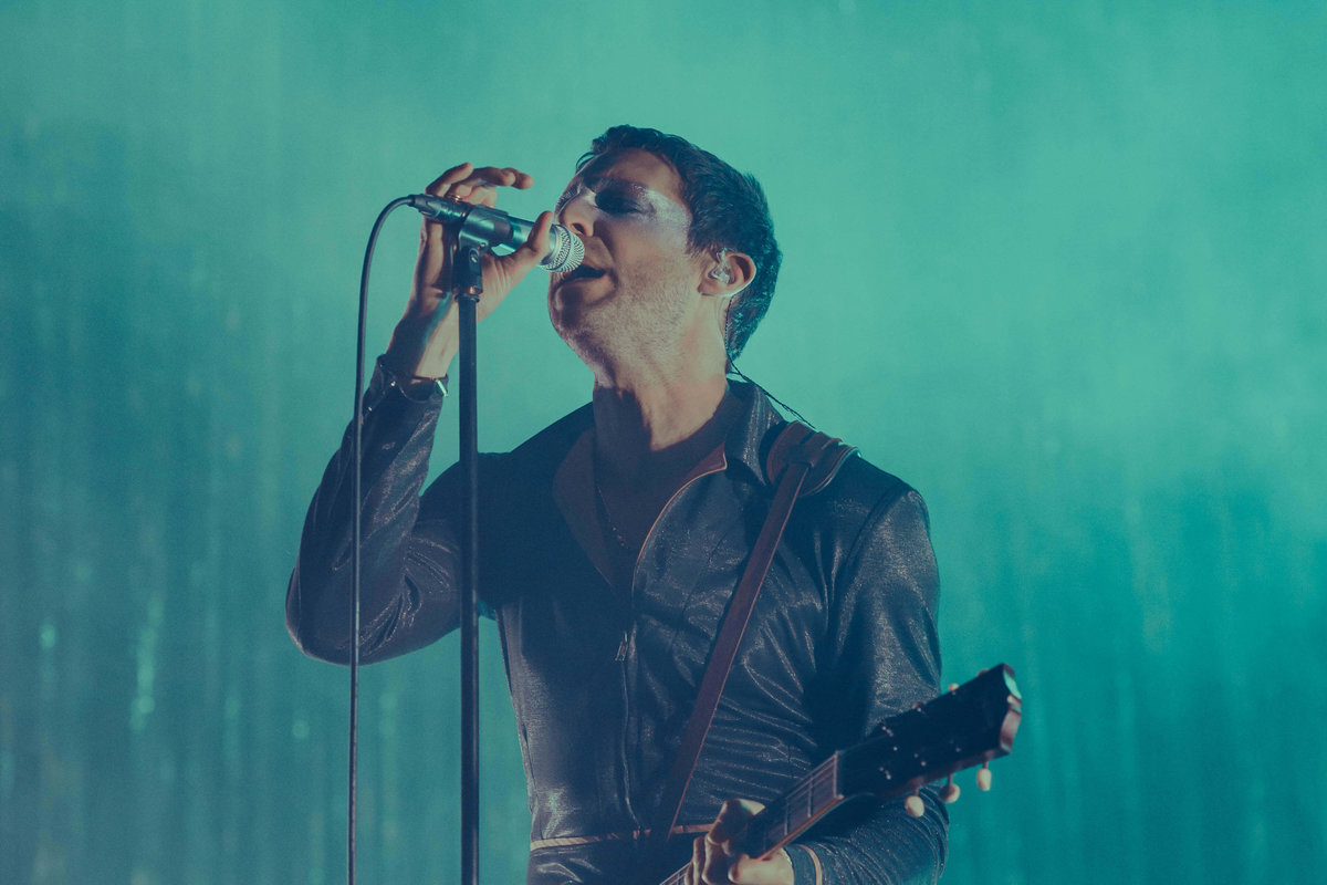 Miles Kane performing onstage at O2 Academy Brixton in London