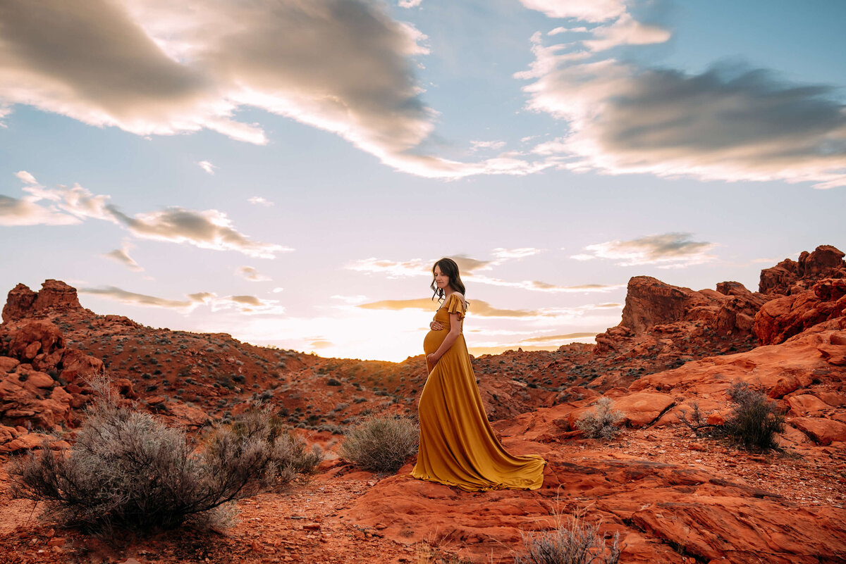 valley-of-fire-maternity-session