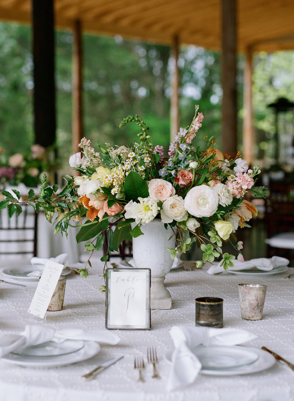 Southern Magnolia Wedding Tables