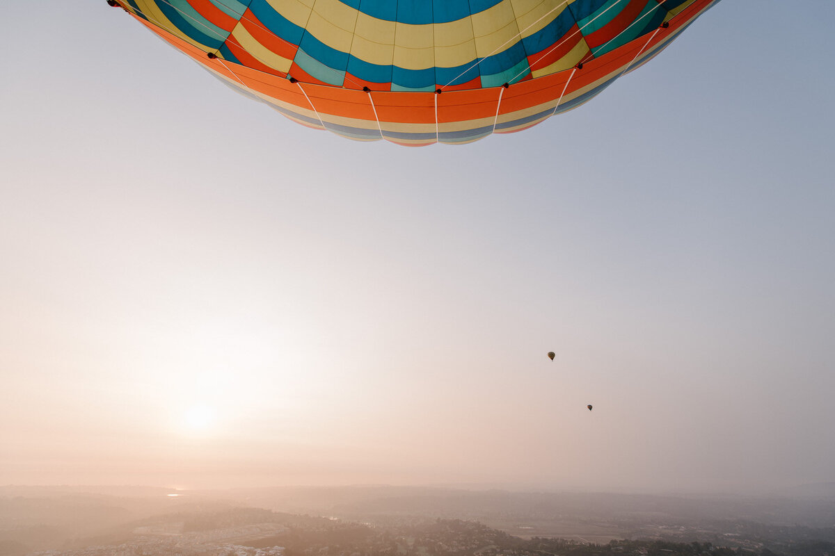 Hot Air Balloon Elopement Marie Monforte Photography-186