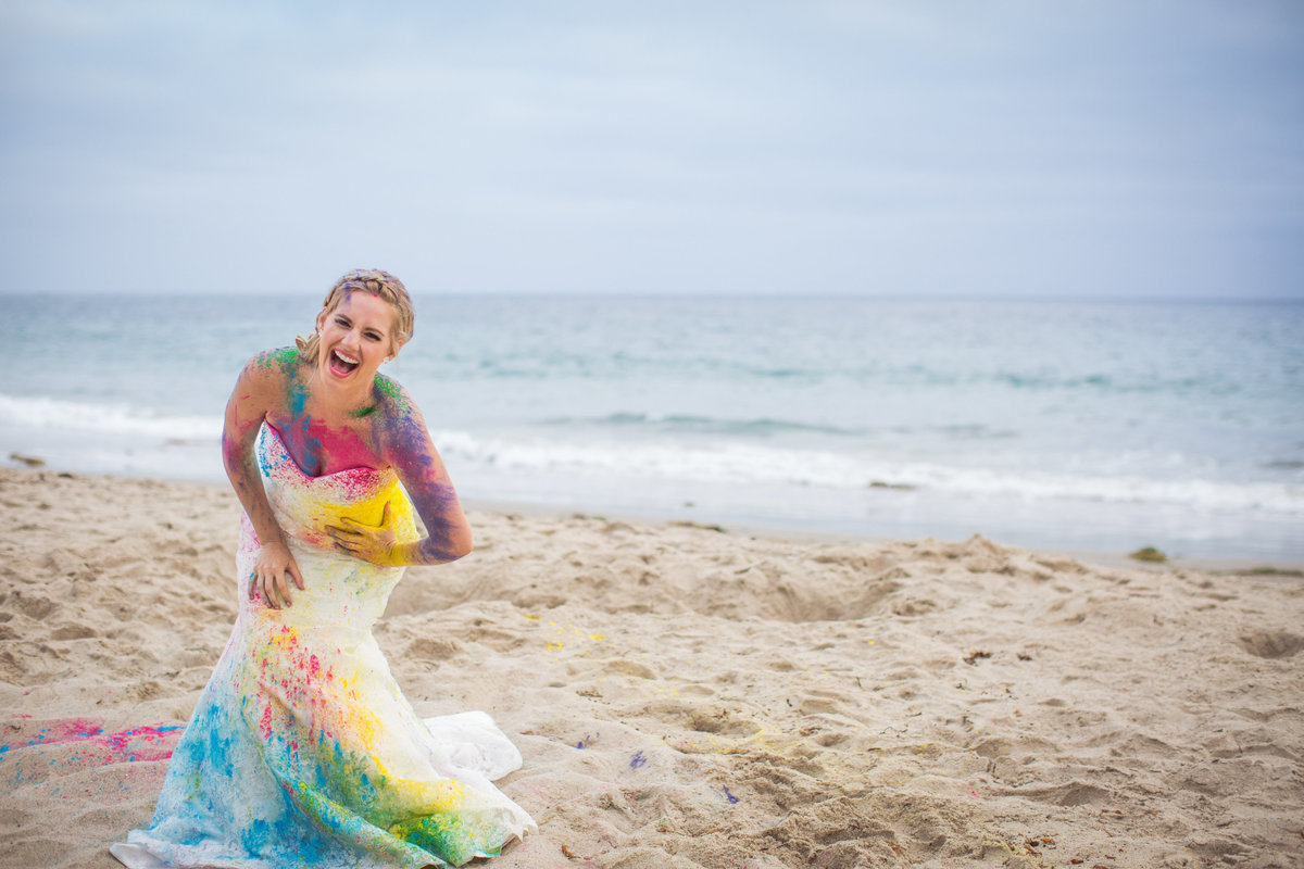 Orange-County-Wedding-Photography-Los-Angeles-Wedding-Photographers-trash-the-dress by Three16 Photography