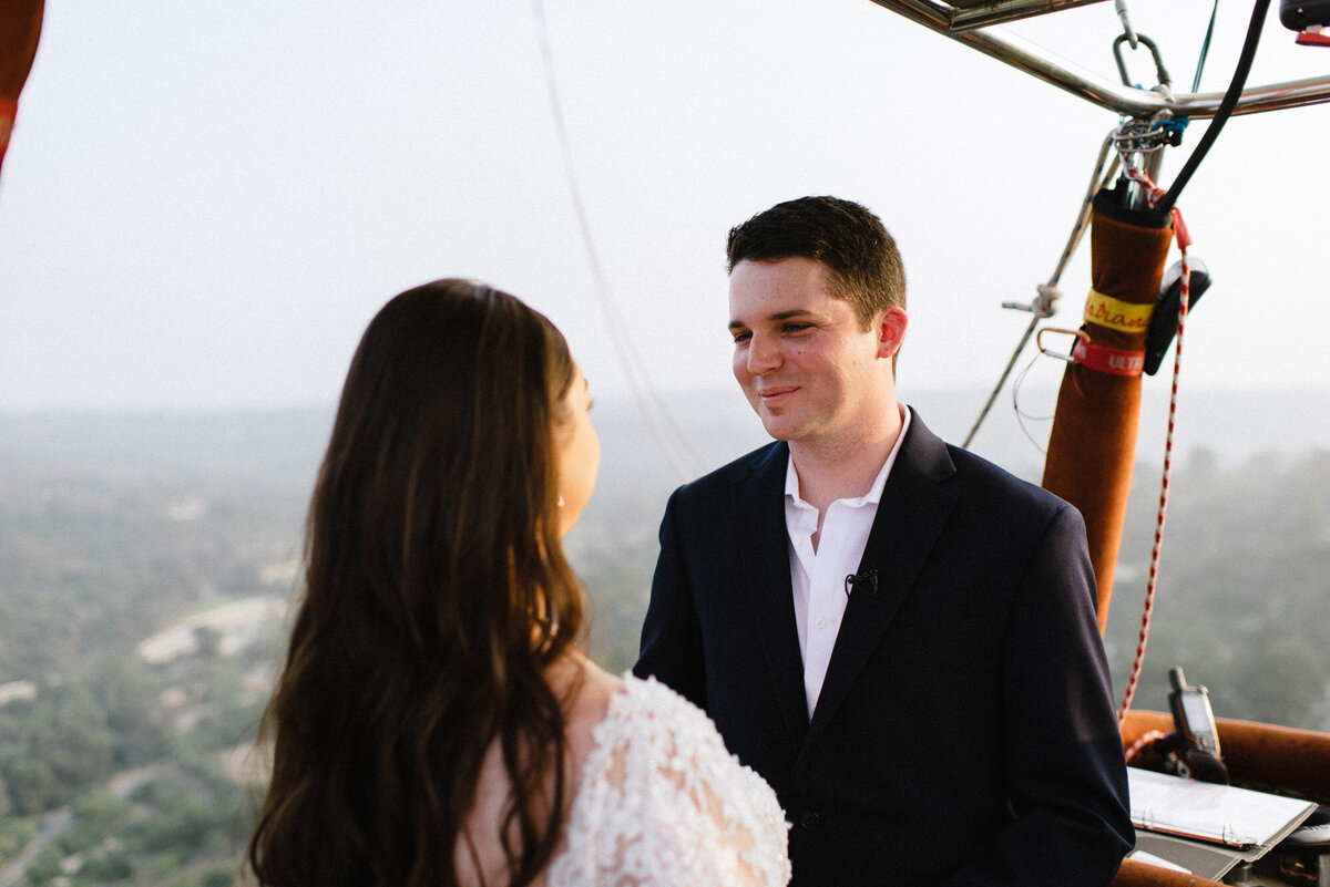 Hot Air Balloon Elopement Marie Monforte Photography-126