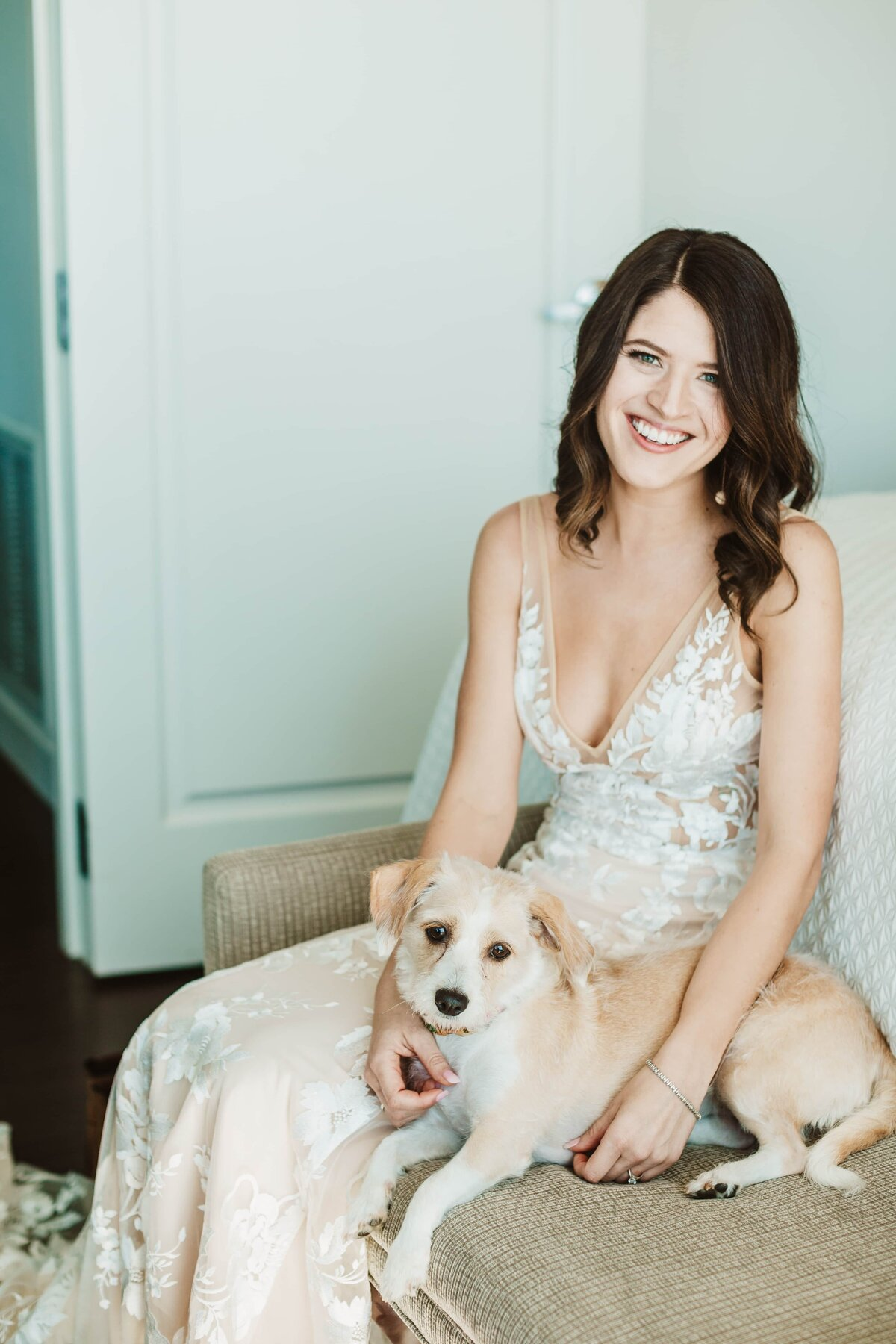 bride-with-dog