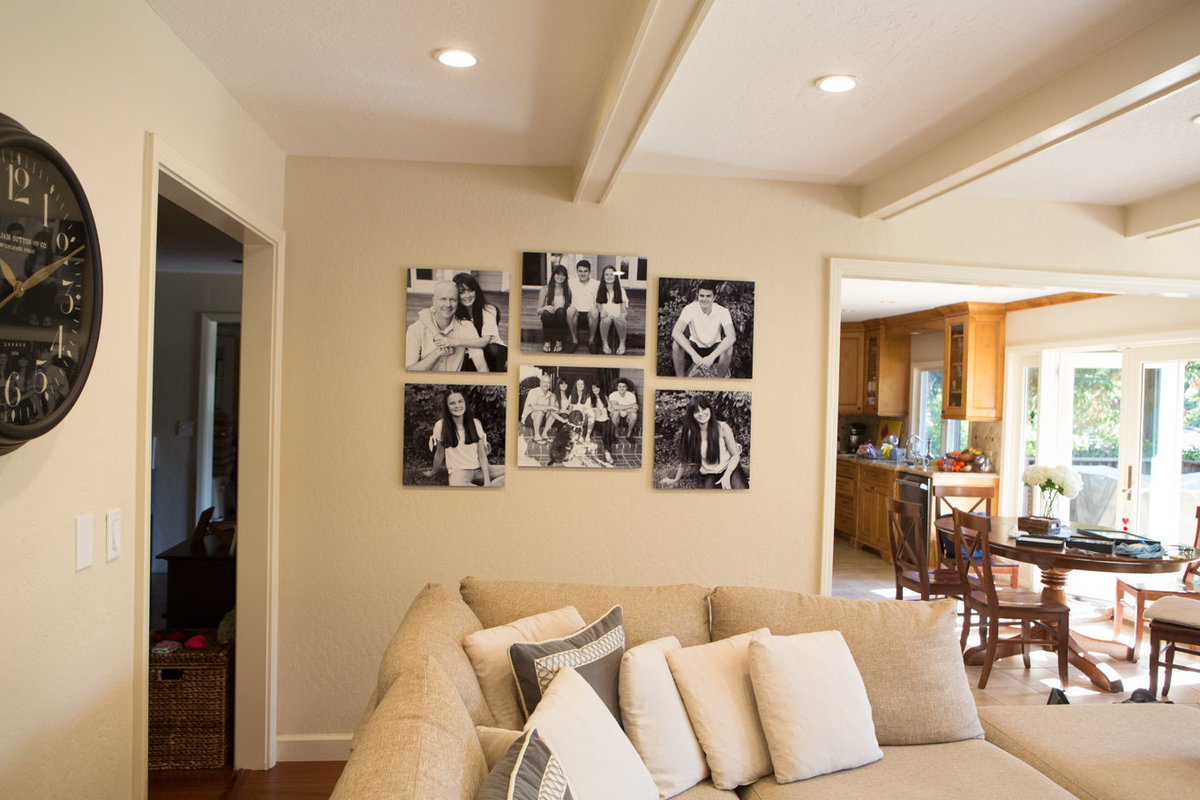 Wall Art Treasuring Family Portraits for a Lifetime