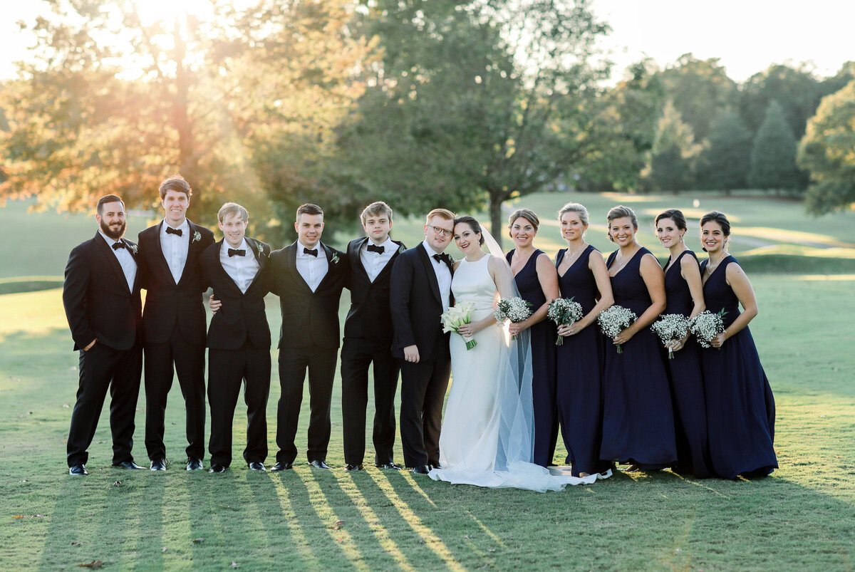 North Carolina Wedding Photographer Photographs a Forsyth Country Club Wedding in Winston-Salem