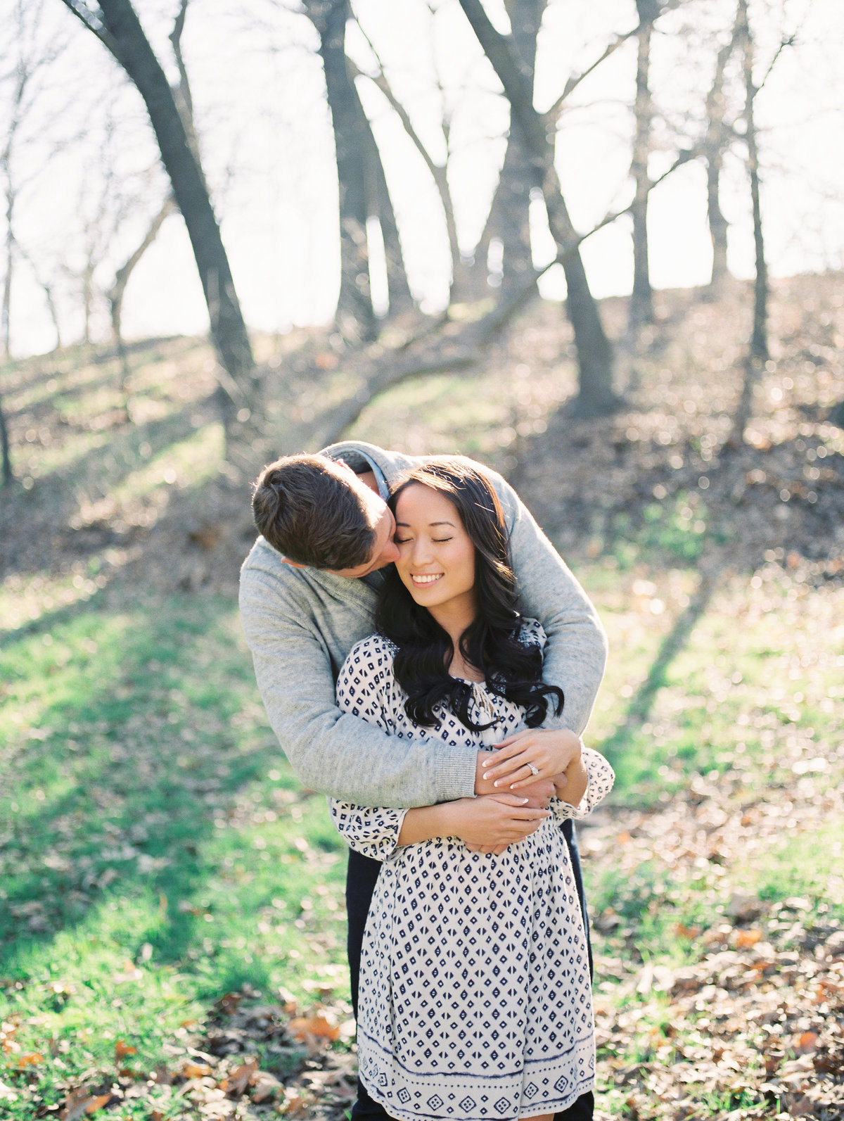 Jenny & Andrew Winter Engagement on Film  {Destination Film Wedding Photographer}  | Katie Schoepflin Photography15
