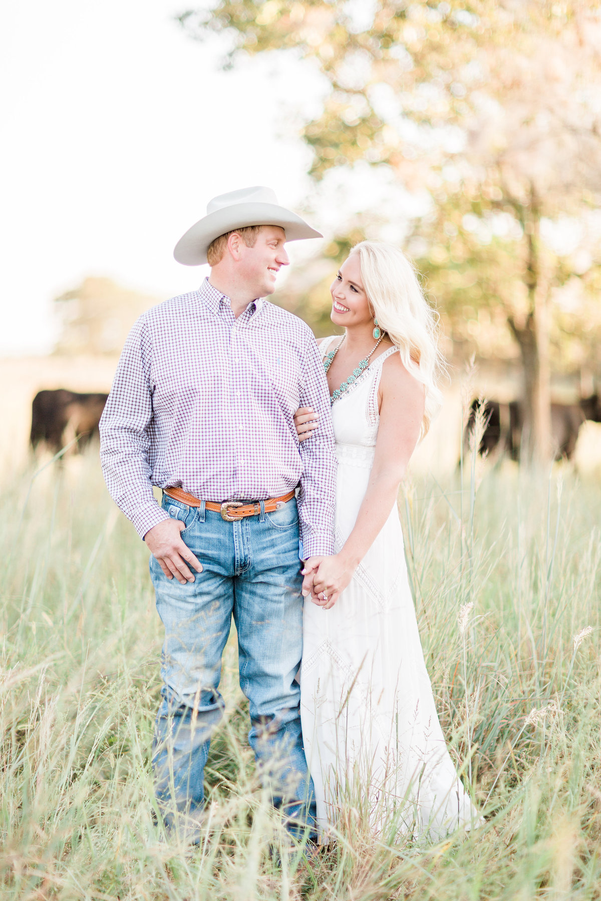 Roos Ranch Roff Oklahoma Engagement Photos