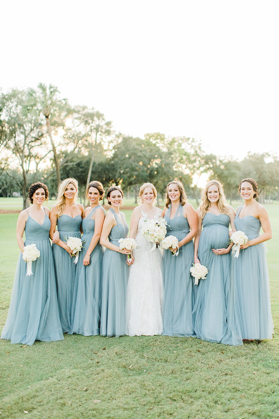 Bride & Bridesmaids Portraits