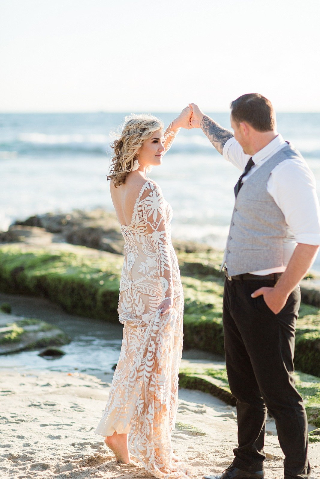 San Diego Beach Engagement Session_0010