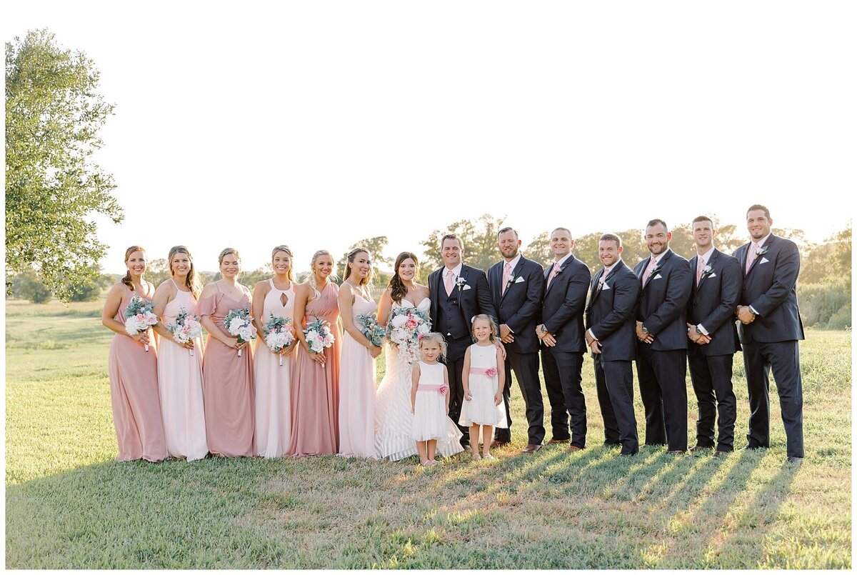 Vintage Blush Inspired Wedding at Emery's Buffalo Creek - Houston Wedding Venue_0099