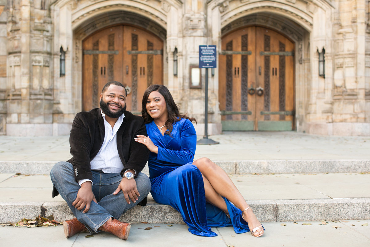 Yale University Engagement Session-3846