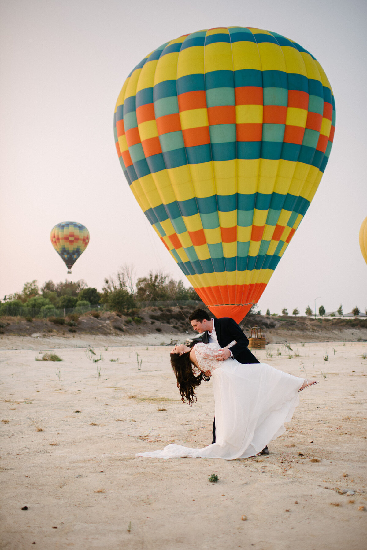 Hot Air Balloon Elopement Marie Monforte Photography-199