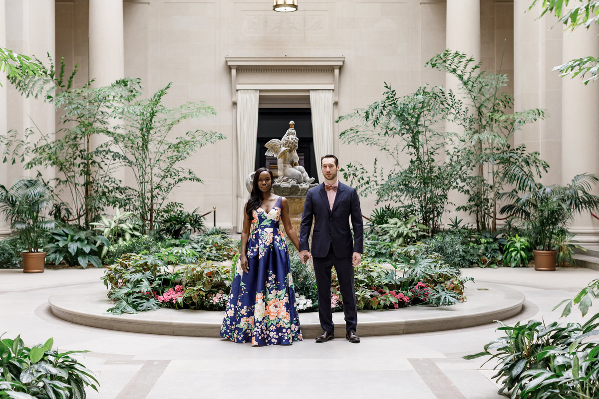 National_Portrait_Gallery_Washington_Engagement_Session_Amy_Anaiz_002