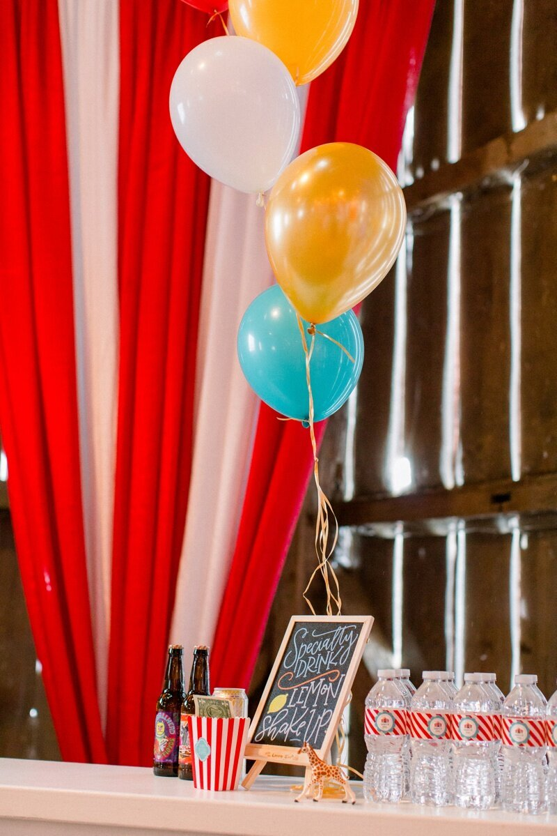 Circus Themed 1st Birthday Indianapolis Party Planner_0073