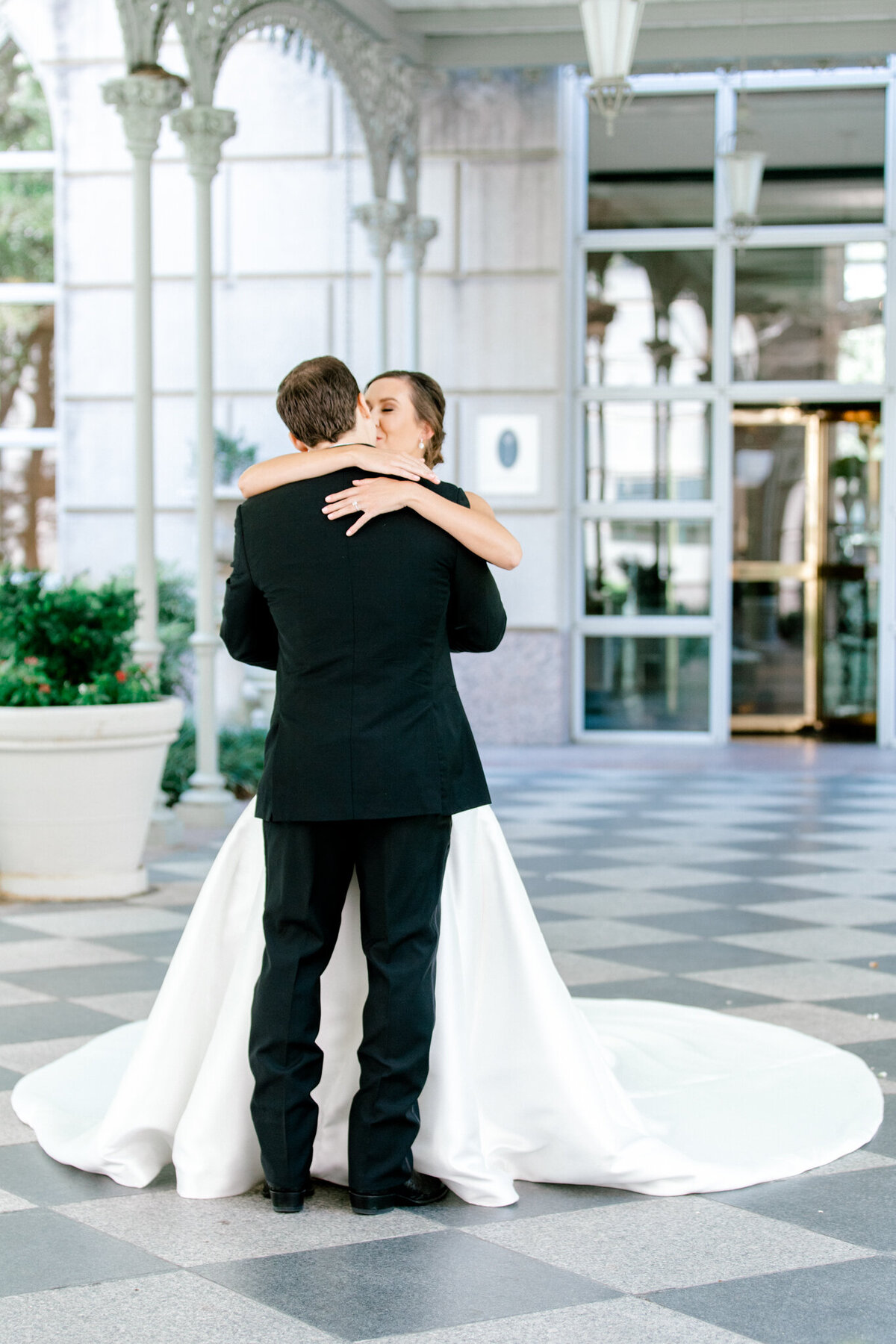 Wedding at the Crescent Court Hotel and Highland Park United Methodist Church in Dallas | Sami Kathryn Photography | DFW Wedding Photographer-51