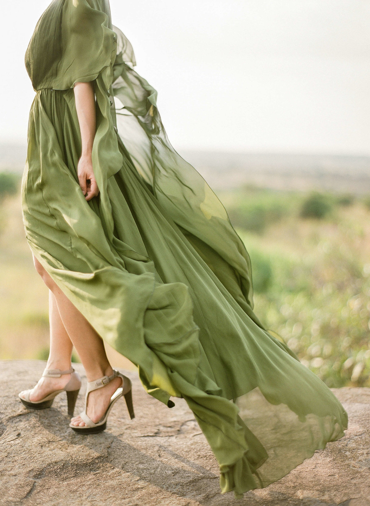 22-KTMerry-weddings-green-chiffon-gown