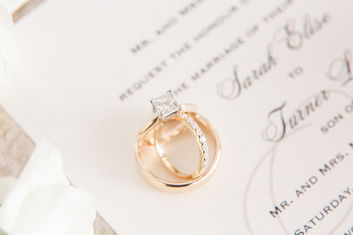Ardmore Convention Center Wedding Rings