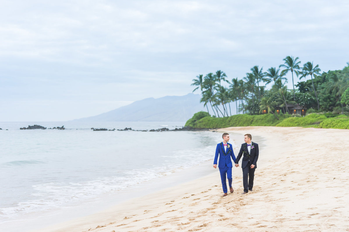 Same Sex Wedding photographers Maui
