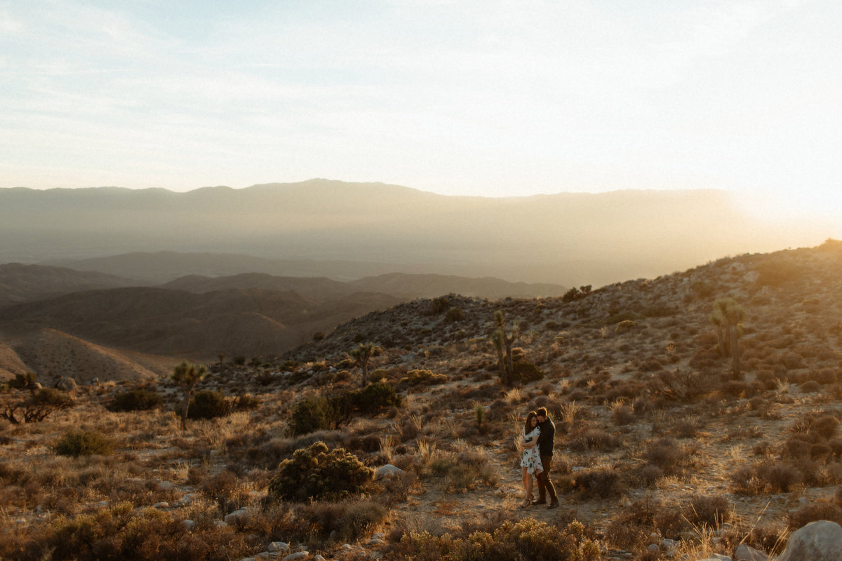 Joshua Tree Hiking Engagement Photos-Krista&Jess-web-158