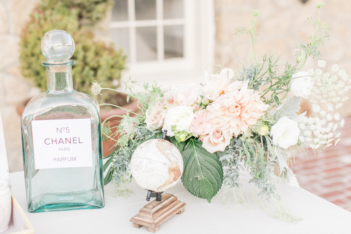 Vintage Chanel Inspired-weddingdecor
