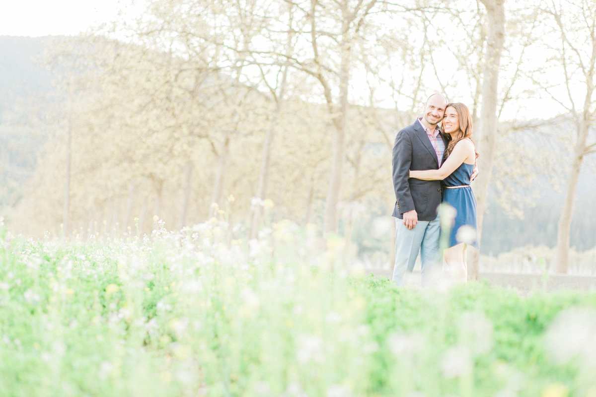 European Garden Inspired Engagement Session