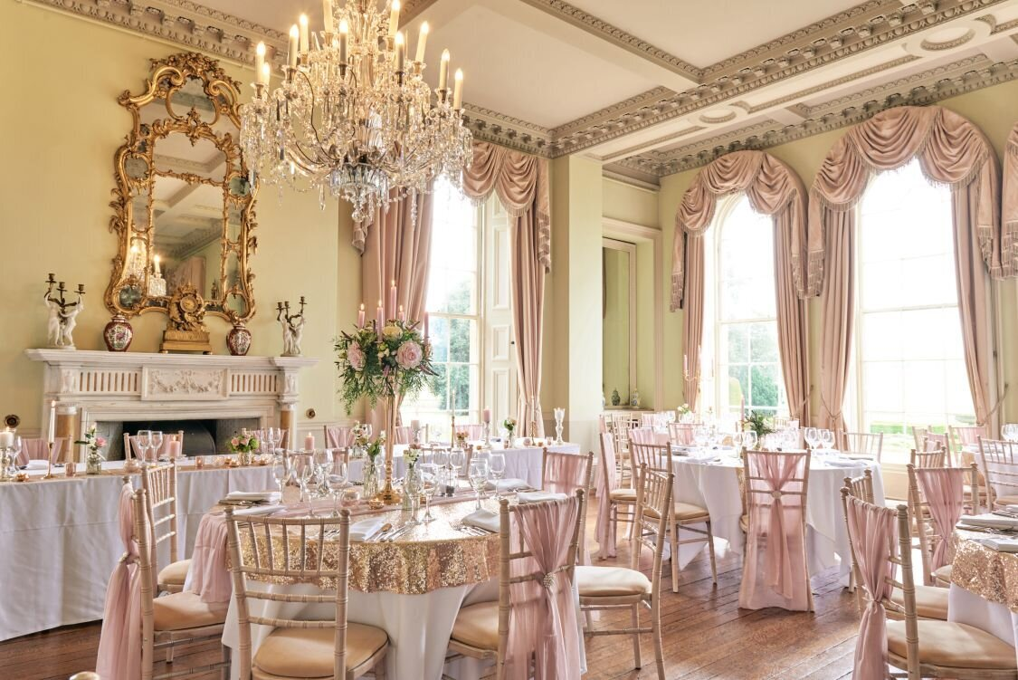 Dusky pink and gold wedding Prestwold Hall sm (21)