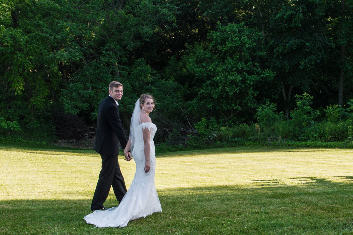 walking away from ceremony