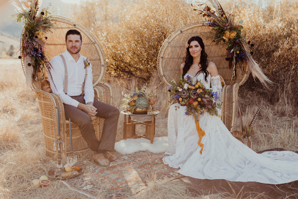 Becca Kufrin & Garrett Yrigoyen Wedding Styled Shoot