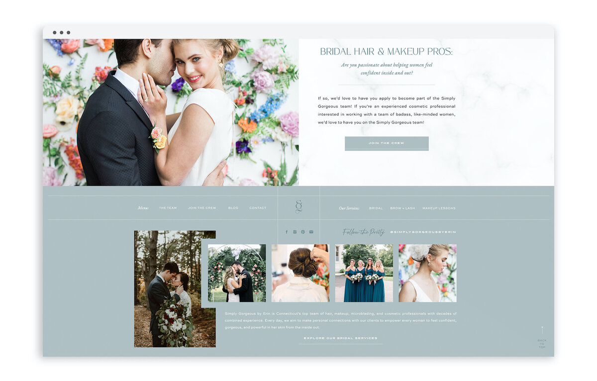 Simply Gorgeous by Erin - With Grace and Gold - Best Showit Website Template Templates Theme Themes Design Designs Designer Designers - Photo - 9