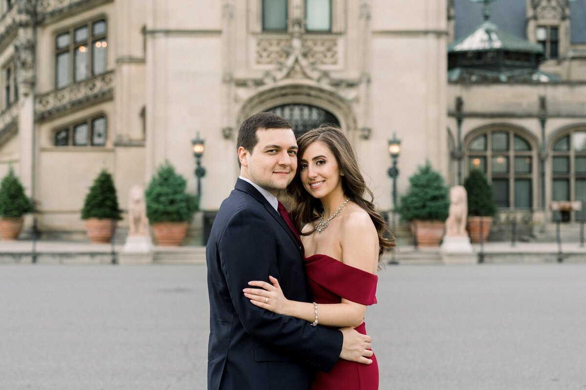 Biltmore Estate Engagement Session 26