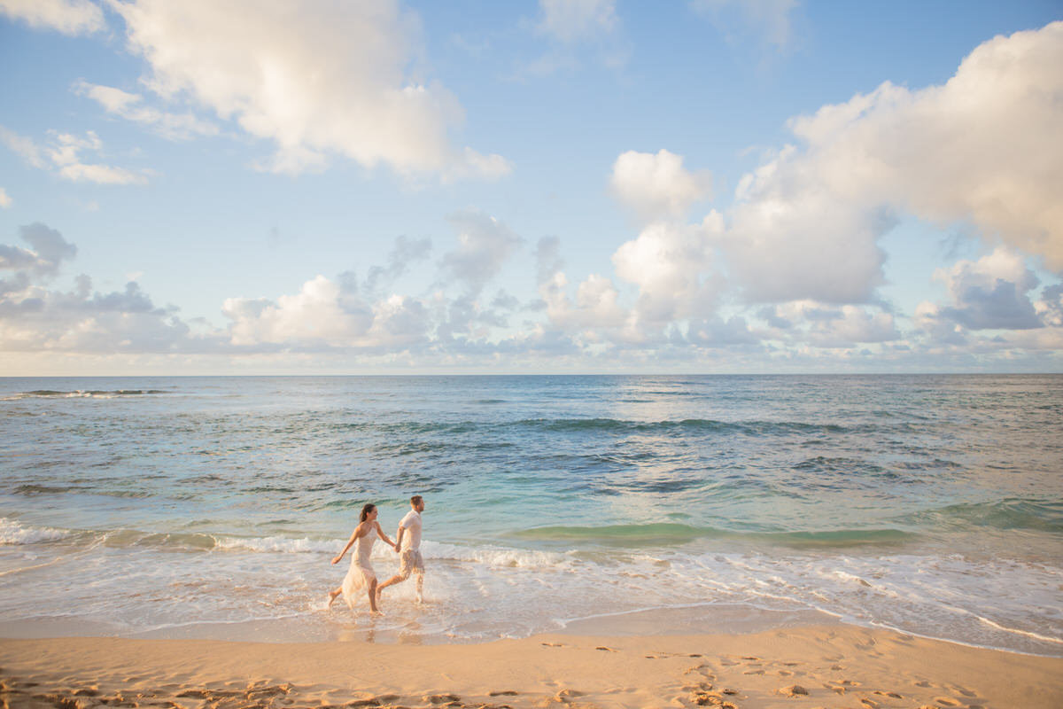 Oahu couples portraits