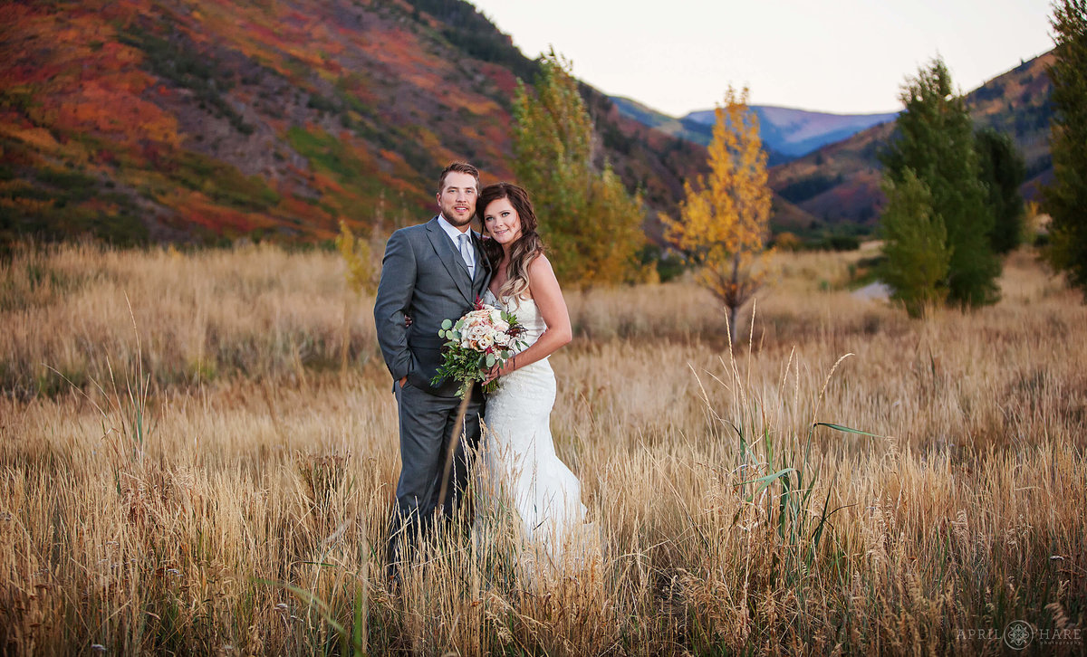 Frost Creek Eagle Colorado Fall Wedding Photography