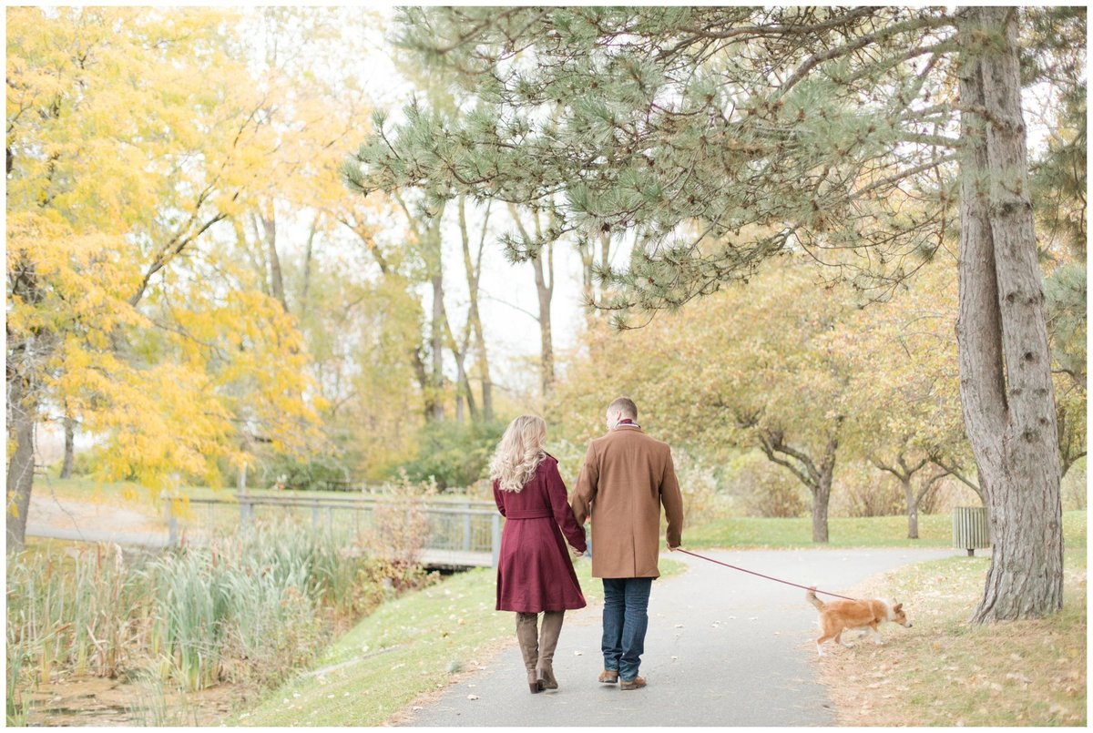 Light-and-Airy-Ottawa-Wedding-Photographer-Andrew-Haydon-Park-Fall-Engagement-with-puppy