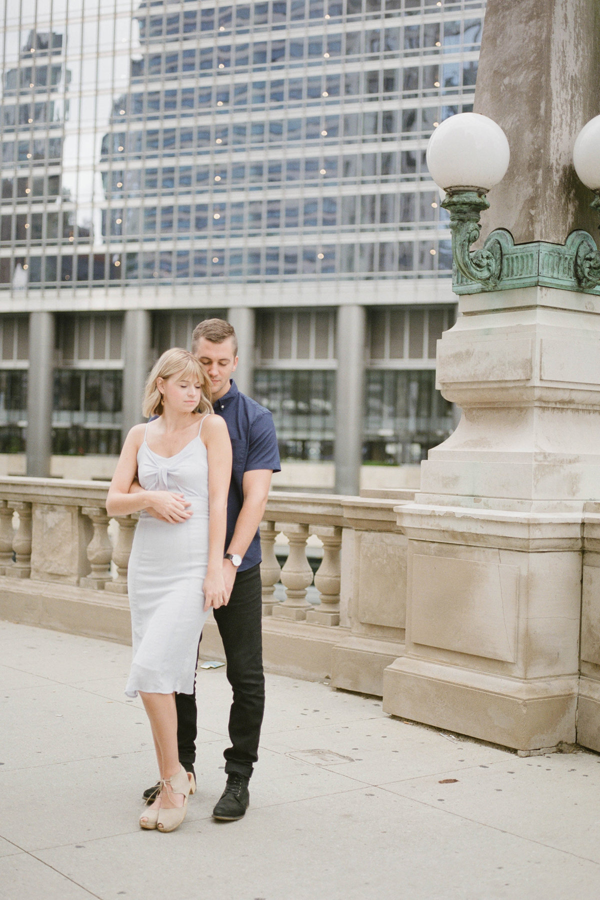 Chicago Wedding Photographer - Fine Art Film Photographer - Sarah Sunstrom - Sam + Morgan - Engagement Session - 31