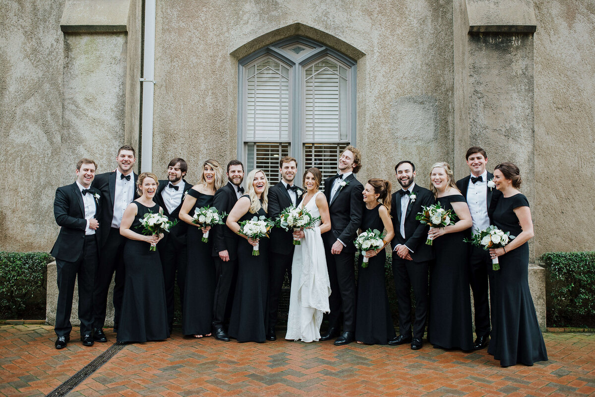Historic Savannah wedding ceremony and reception - Savannah wedding photographer Izzy + Co.