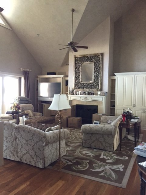 Interior Design  and remodel for home located in Sherrills Ford, North Carolina