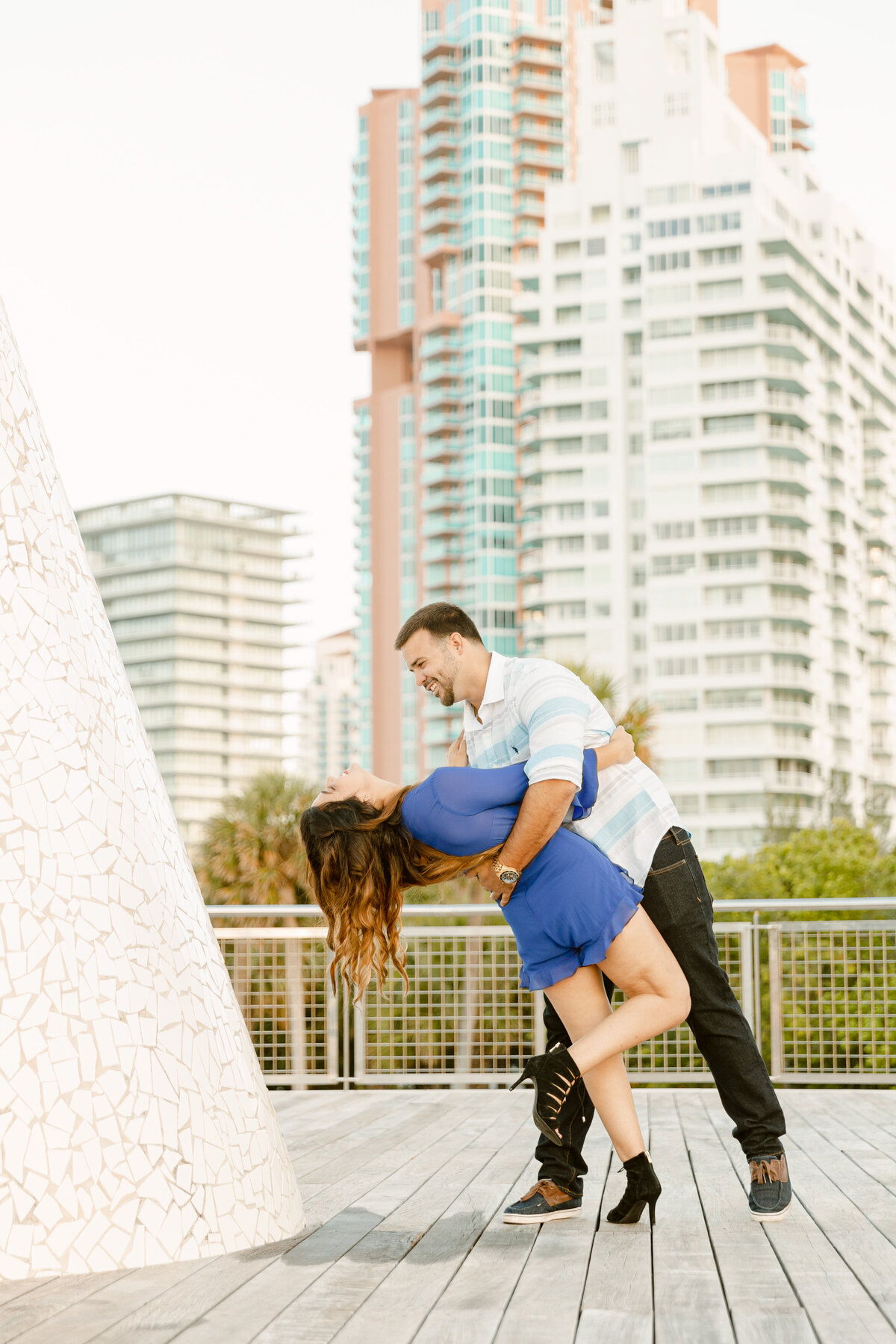 South Pointe Park Engagement Photography Session 13