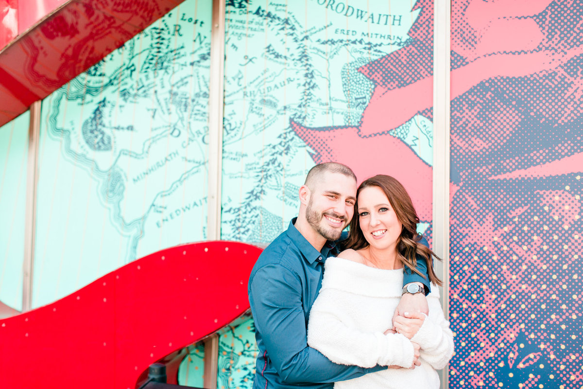 Downtown Seattle Engagement Session_0011