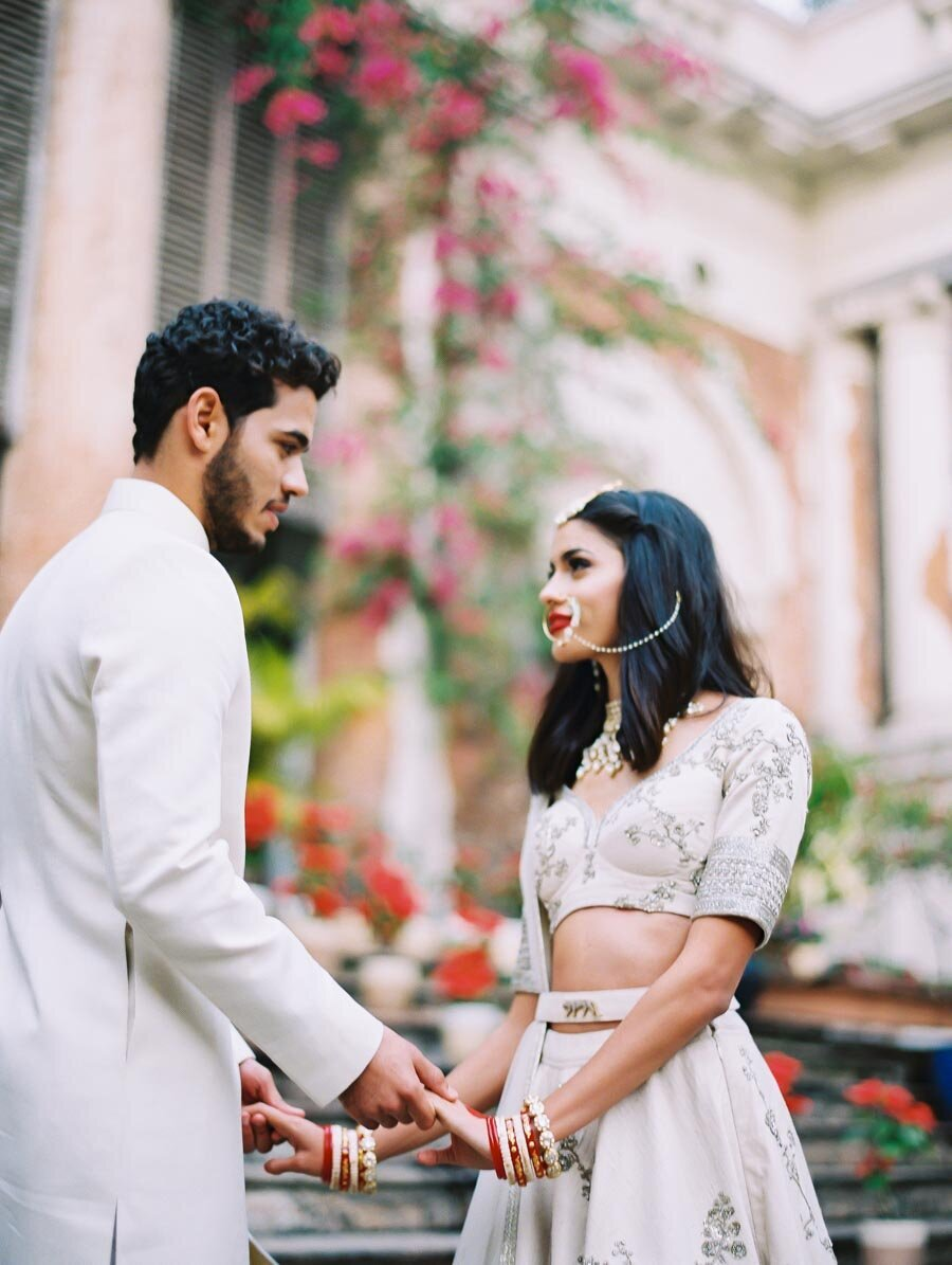 Destination Indian Wedding Styled Shoot Fine Art Film Photographer Bonnie Sen Photography