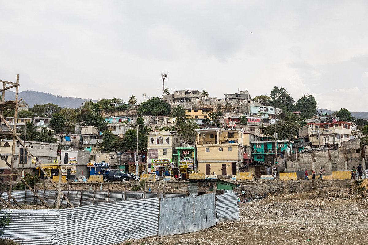 port au prince in haiti