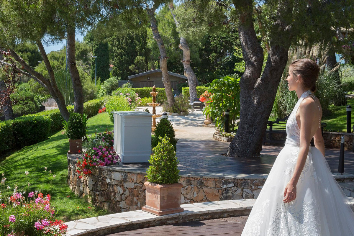 Grand Hôtel Saint Jean cap ferrat wedding French Riviera weding photographer Gabriella Vanstern