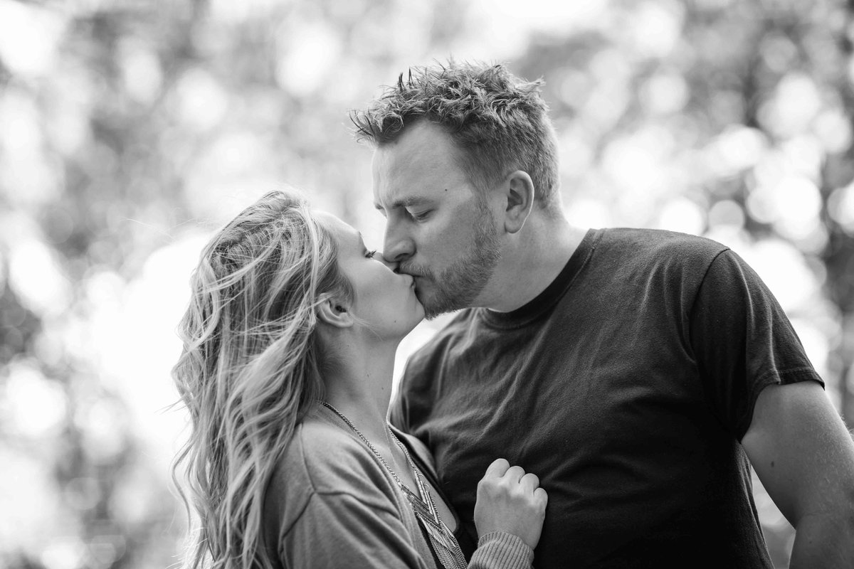 14 black and white outdoor engagement photos ct